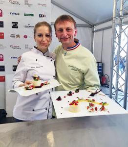 Frederic Jaunault et Nina Tarasova