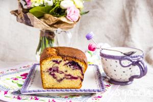 Прекрасный кекс к чаю