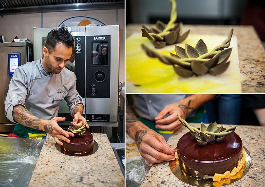 Мастер-класс по декору из шоколада