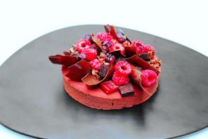 «Tarte chocolat framboise»