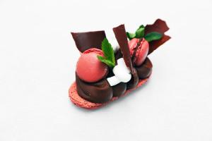 «Macaron chocolat menthe»