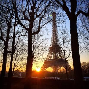 Утренний Париж!