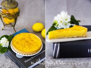 Лимонный тарт от Хестона Блюмменталя
