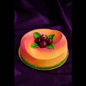 """Торт """"Вишня-персик"""""""