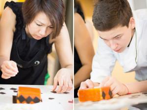Декор, работают студенты