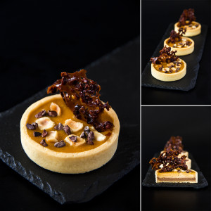 Tartlets chocolate and caramel