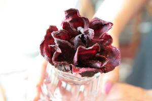 Свекольная роза