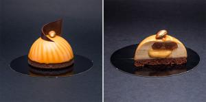 Пирожное «Карамельный вихрь»