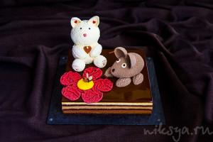 "Детский торт ""Три шоколада"""