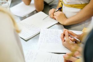 Тетрадки, лекции, записи, все как в школе