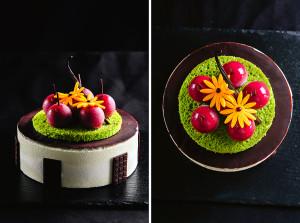 Торт «Вишня в шоколаде»