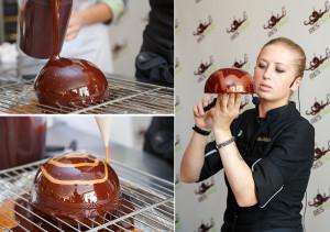 Шоколад и карамель