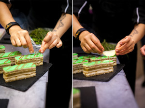 """Работа над тортом """"Опера"""""""
