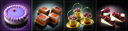 Desserts by David Bonet