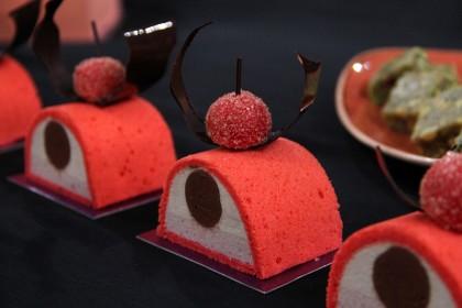 Пирожное «Cherry tea»