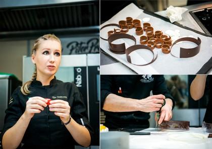 Работа с шоколадом
