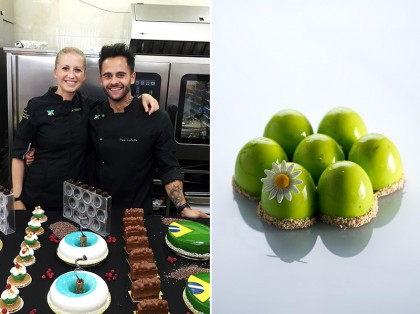 Diego Lozano and Nina Tarasova, Entremet France
